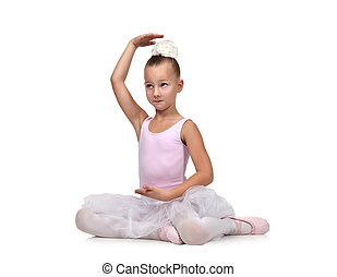 Ballerina children dancer