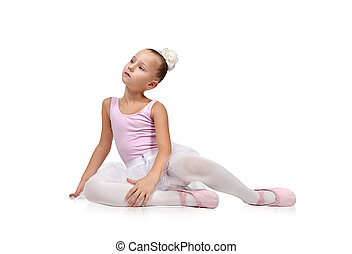Ballerina dancer in tutu