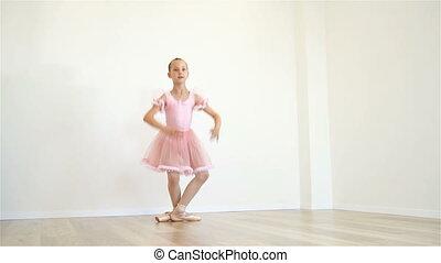 Ballerina Doing Workout
