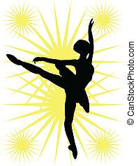 ballerina, hintergrund