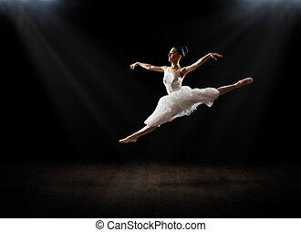 Ballerina (on hall version) - Young ballerina (on hall ...