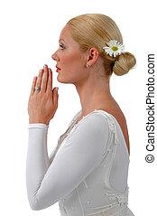 Ballerina Praying