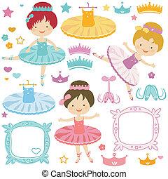 ballerina set - little ballerina set for kids