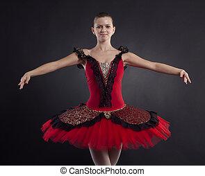ballerina smiling