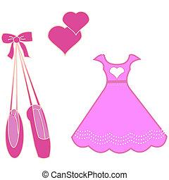 ballerina vector set