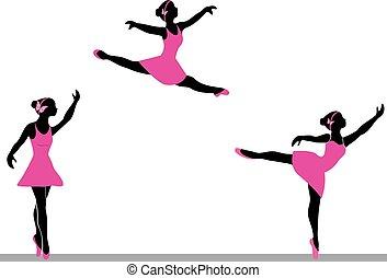 ballerinas, tánc