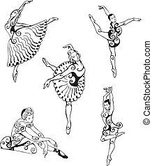 ballerines, danse