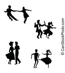 ballerini, retro