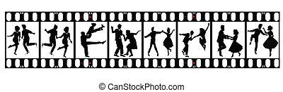 ballerini, su, film