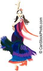 ballerino, flamenco