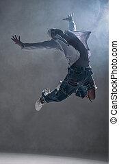 ballerino, studio, hip-hop