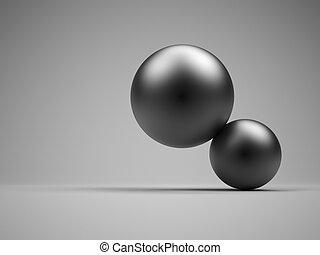 balles, équilibre