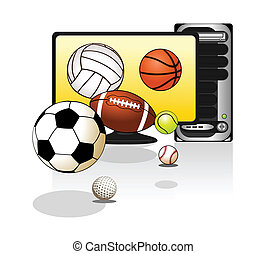 balles, divers, sports