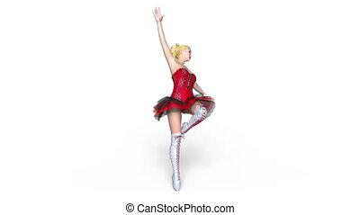 Ballet dancer - Image of a ballet dancer.
