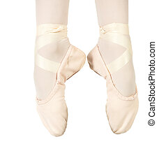 Ballet Feet Positions - Young female ballet dancer showing ...