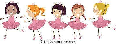 ballet, filles
