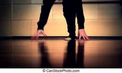 ballet, moderne, prof, tango