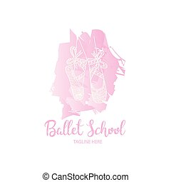 Ballet school logo