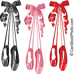 Ballet slippers set