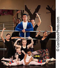 Ballet Studio Class