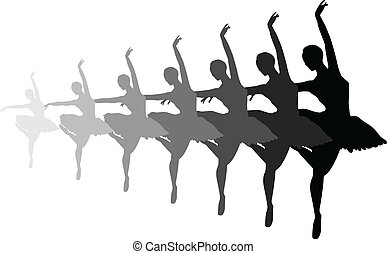 balletto, dissolvenza