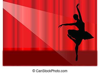 balletto, palcoscenico