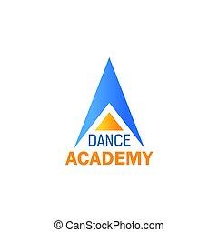 balletto, scuola ballo, disegno, sport, studio, icona