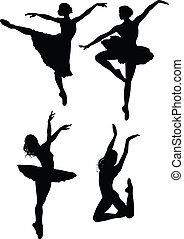 balletto, silhouette