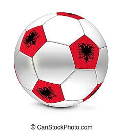 ball/football, futball, albánia