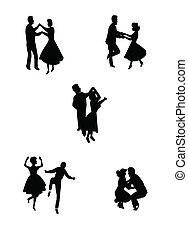 ballo, altalena, notte
