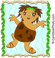 ballo, caveman