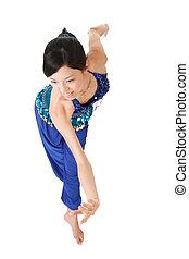 ballo, latino, atteggiarsi