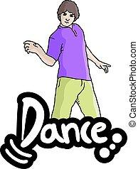 ballo, uomo