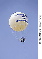 Ballon as tourist attraction in Tel Aviv