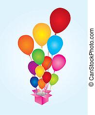 ballons, verrassing