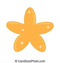balloon, étoile, isolé