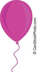 balloon, ピンク