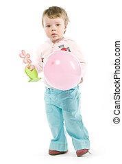 balloon, 子供