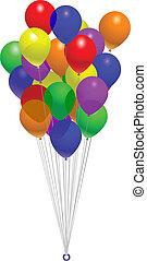 balloon, 束
