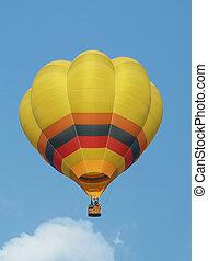 balloon, 温風, 黄色