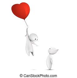 balloon, 飛行