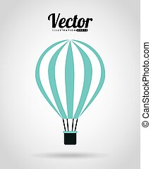 balloon air design - balloon air design, vector illustration...