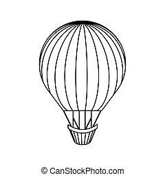 balloon air hot travel