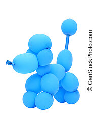 balloon animal poodle