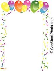 balloon, aniversário