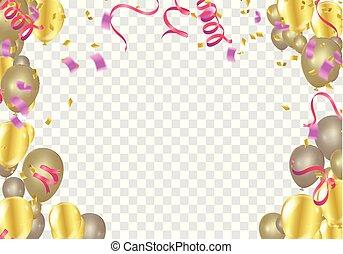 congratulations banner with colorful confetti congratulations paper