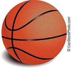 Balloon basketball vector