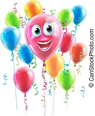 Balloon Cartoon Character