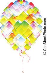 balloon, coloré
