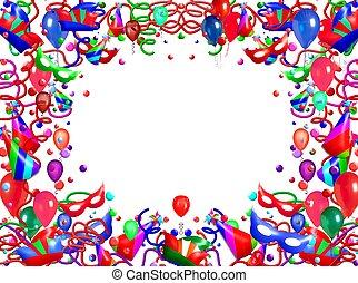 balloon, cornice